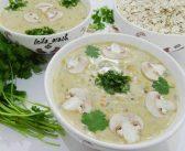 طرز تهیه سوپ جو پرک خوشمزه و مقوی و عکس های تزیین سوپ جو