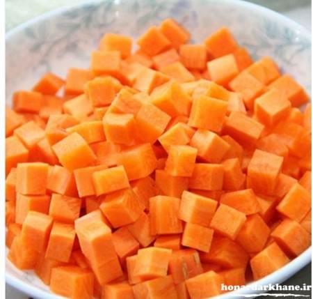 طرز تهیه سوپ با هویج