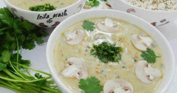 طرز تهیه سوپ جو با شیر