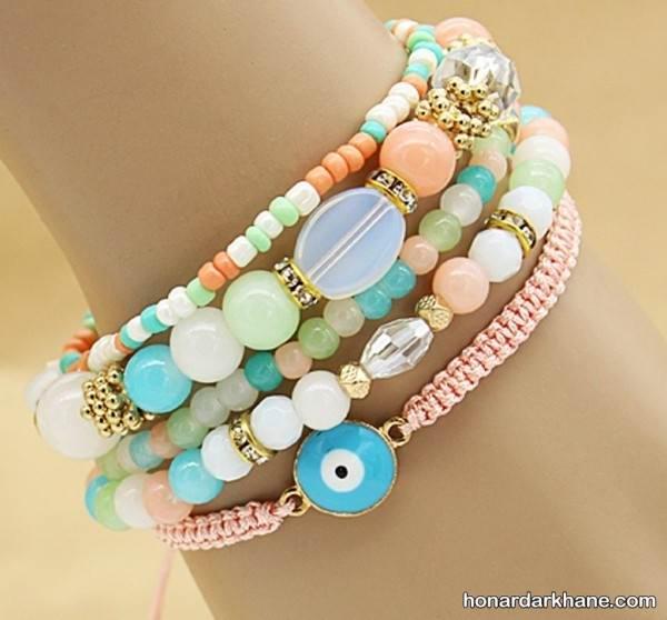 مدل جدید دستبند دست ساز