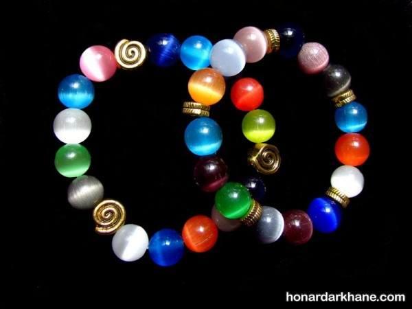 ساخت دستبند با مروارید