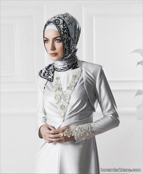 مدل لباس پوشیده عقد