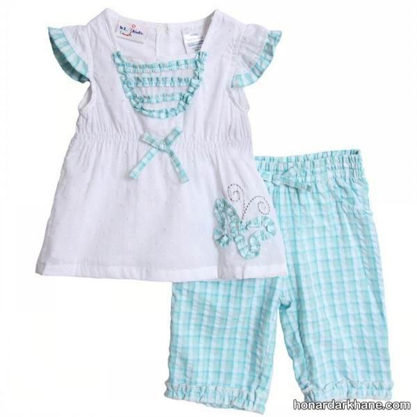 مدل لباس تابستانی بچگانه