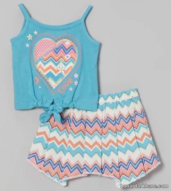 لباس تابستانی بچگانه