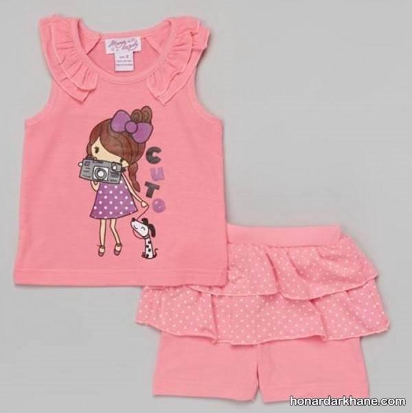 لباس تابستانی برای بچه ها