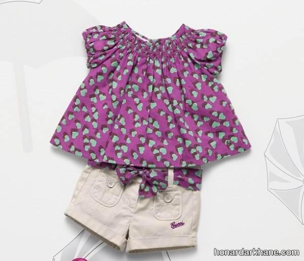 مدل لبای تابستانی برای دختر بچه ها