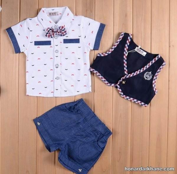 لباس تابستانی جدید کودکانه