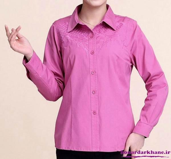 مدل پیراهن نخی جدید دخترانه