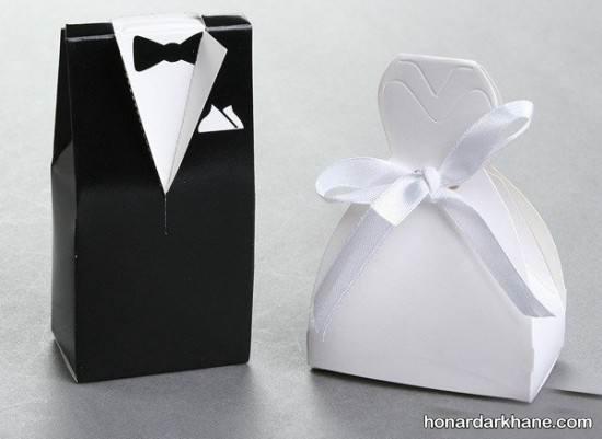 جعبه هدیه عروس و داماد