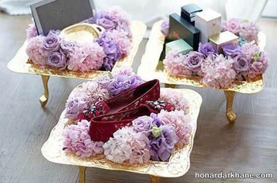 تزیین هدیای عروس