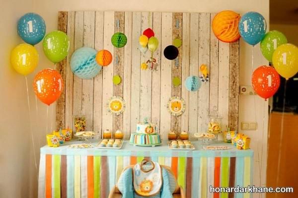 چیدمان میز تولد