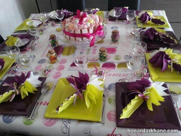 تزیینات میز تولد