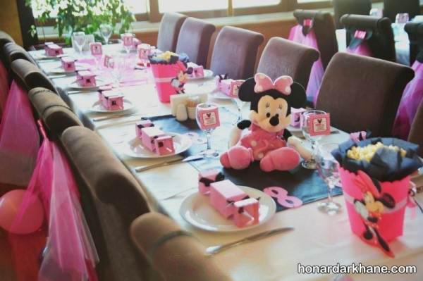 تزیین میز برای تولد کودکان
