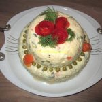 طرز تهیه سالاد الویه با مرغ