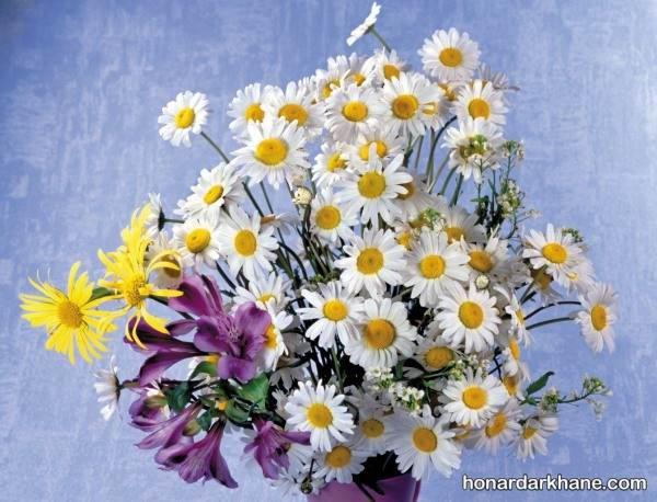 مدل های نقاشی گل