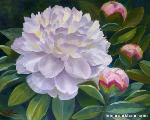 آموزش نقاشی گل