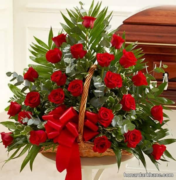 سبد گل رز برای خواستگاری