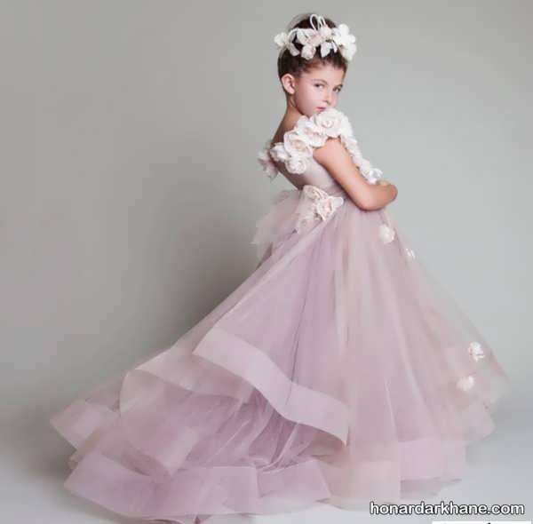 لباس مجلسی شیک برای دختر بچه ها