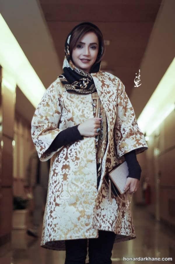 مدل مانتو شبنم قلی خانی