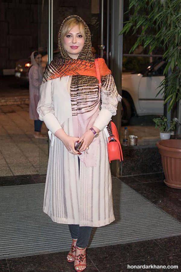 عکس مانتو بازیگران زن مشهور