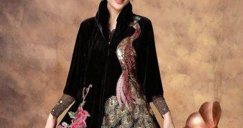 مدل گلدوزی روی لباس