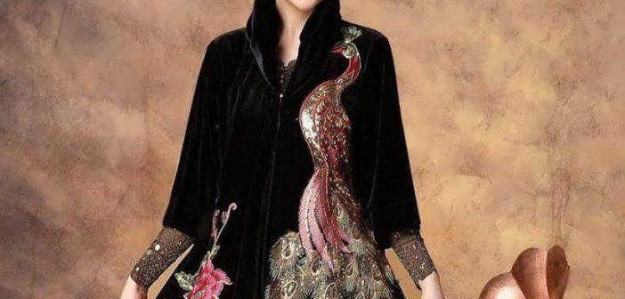 مدل گلدوزی روی لباس و مانتو با طرح های جدید و شیک