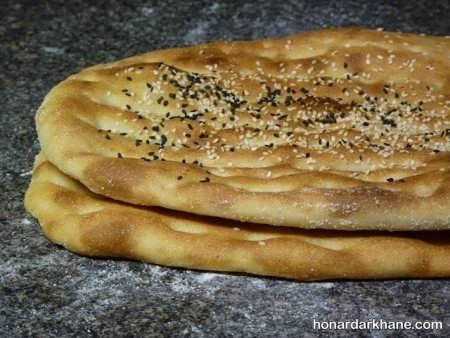 طرز تهیه نان در منزل