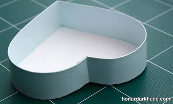 ساخت جعبه هدیه قلبی