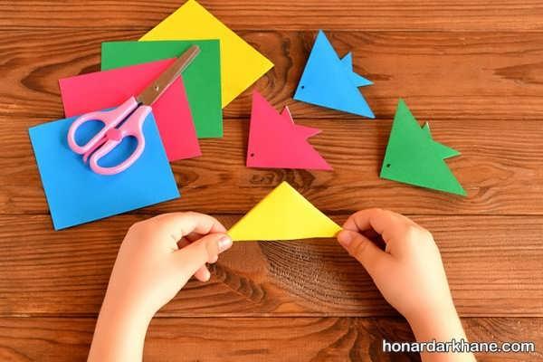 ساخت کاردستی جالب برای کودکان
