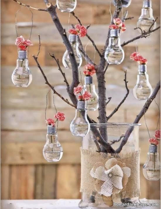 کاردستی های جالب با لامپ