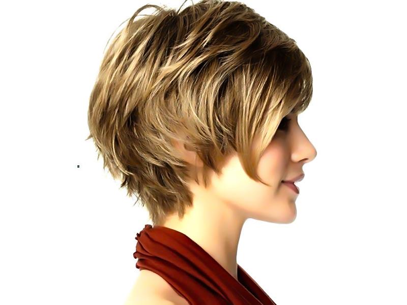 مدل موی کوتاه جدید مدل موی کوتاه زنانـه جدید به منظور صورت های کشیده و  گرد