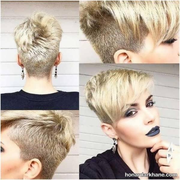 عکس مدل موی کوتاه