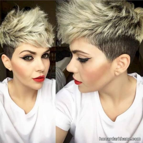 مدل موی کوتاه و فشن زنانه