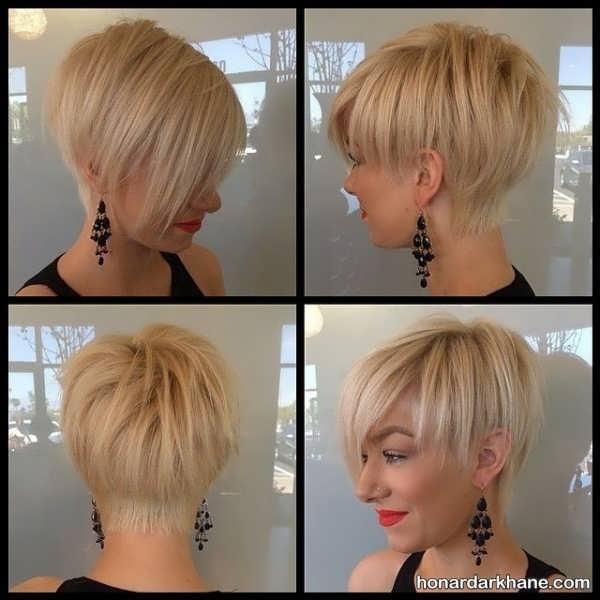 مدل موی شیک و زیبای زنانه