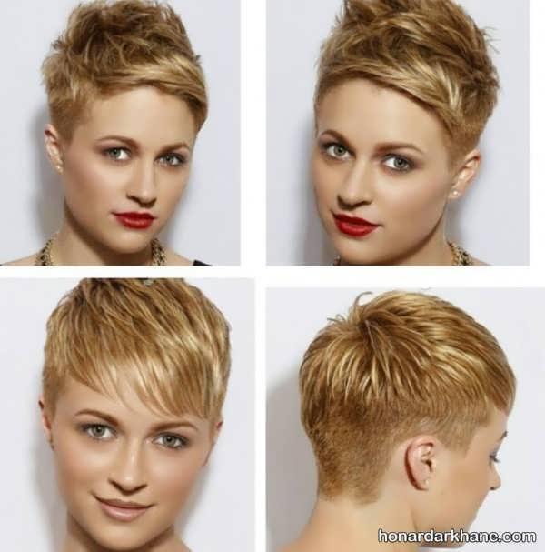 مدل موی کوتاه جدید و زیبا