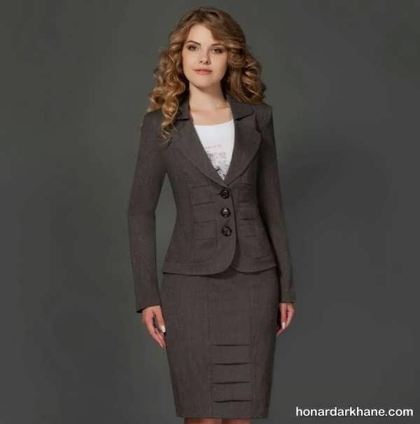 کت و دامن جدید زنانه