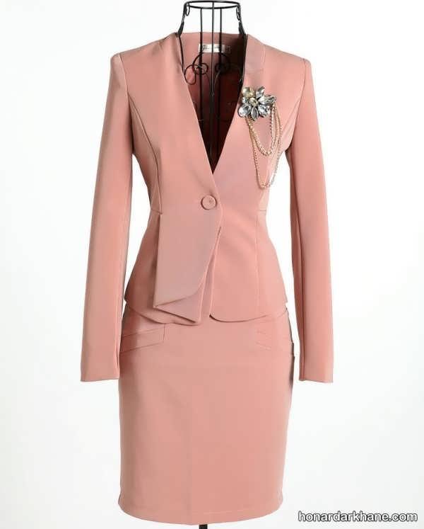 مدل کت و دامن مجلسی زنانه
