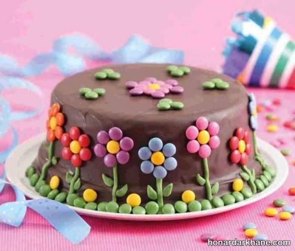 تزیین کیک با دراژه