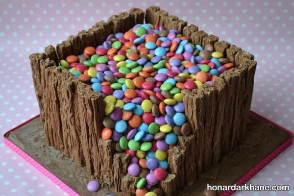 تزیین کیک خانگی با دراژه