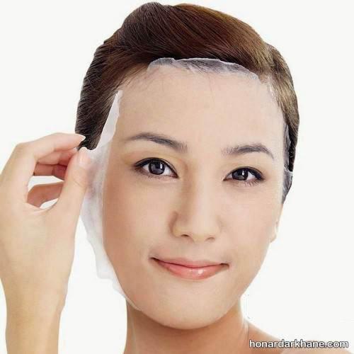 ماسک لایه بردار طبیعی