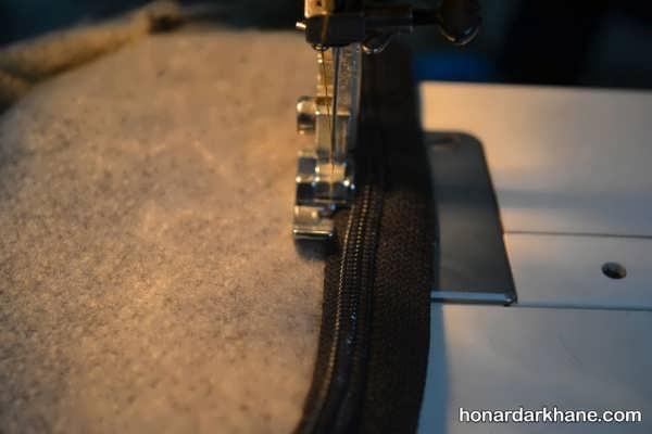 دوخت کیف نمدی جدید