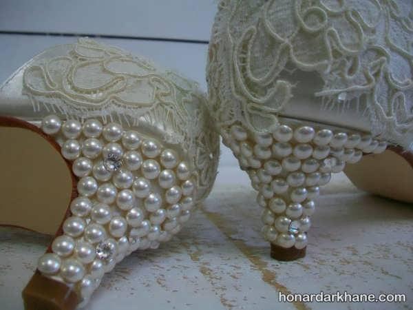 تزیین کفش با خلاقیت