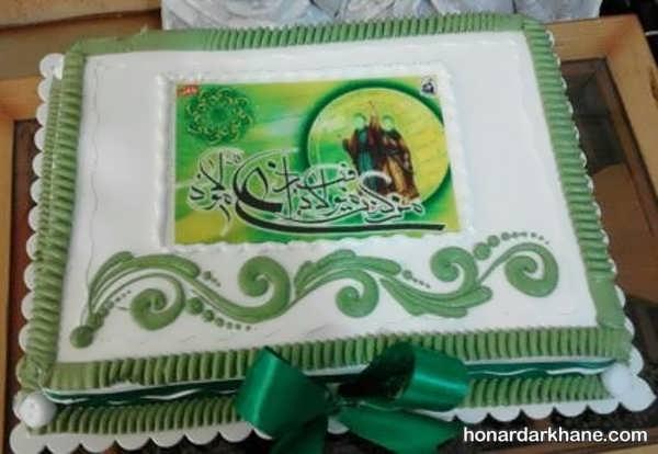 تزیین کیک عید غدیر