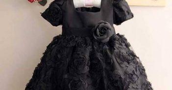 مدل لباس مشکی دخترانه