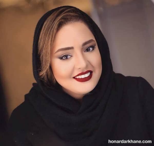 مدل موی نرگس محمدی