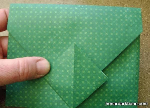 آموزش ساخت پاکت کاغذی برای پول