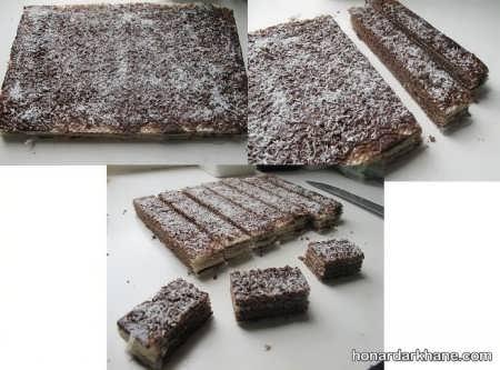 طرز تهیه شیرینی میکادو