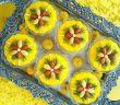 تزیین شله زرد نذری