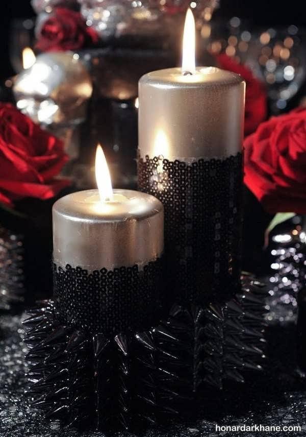 شمع آزایی با تور سیاه