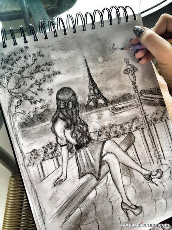 عکس نقاشی عاشقانه